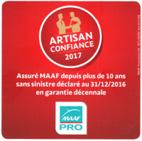 Artisan Confiance 2017